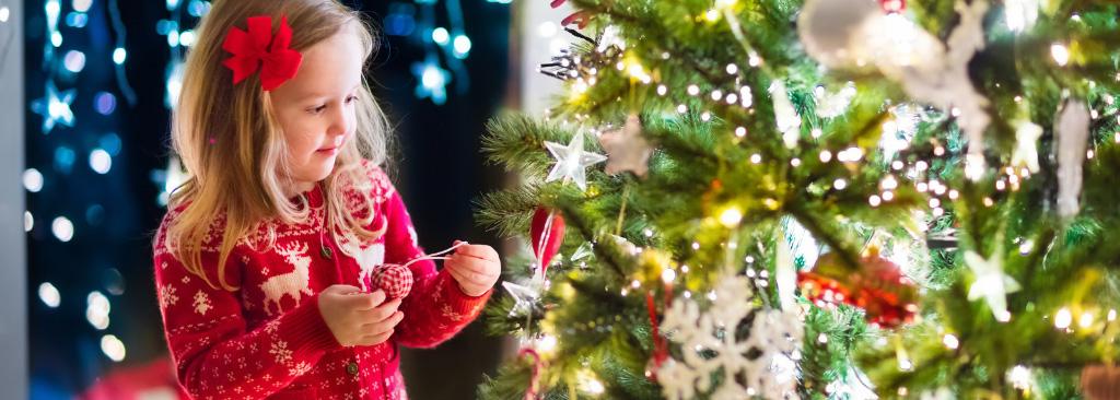mensajes secretos árbol de Navidad