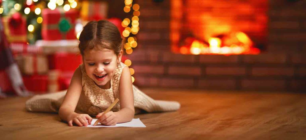 escribe una carta con las cosas buenas